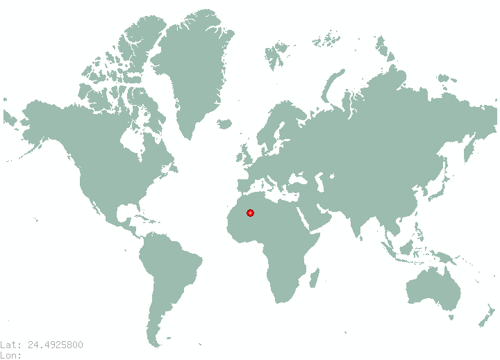 Sultanah in world map
